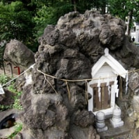 鳩森八幡の千駄ヶ谷富士