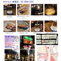久しぶりの思いで横丁(西新宿飲食店街)での焼き鳥、「ささもと」。