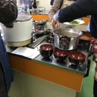 地区恒例の料理教室