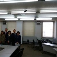 熊取町議会へインターネット放映視察