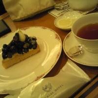 帝国ホテルでお茶しました。