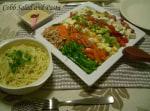 野菜た~っぷりコブサラダ で サラダパスタ ♪
