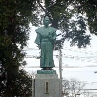 戻ってきた横井小楠銅像