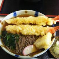 「私は天ぷら蕎麦なのね」