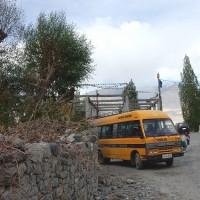 ラダック  デスキット村を歩く