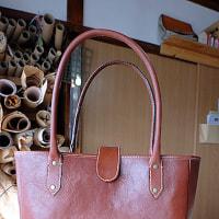 生徒さんの作品/内縫いトートバッグ