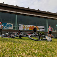 RCC Keirin bank training at Chiba velodrome