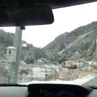 河内長野から橋本までの道路の雪情報です。