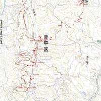 西岡レクの森・焼山のGPSトラック