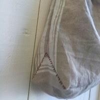 サイザルバックの内布巾着