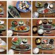 セラドン焼のある食卓