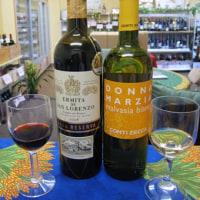 白・赤ともに非常にコスパがいいワインが、無料試飲できます。
