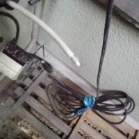 今日は、広島市西区へ地デジ受信不調改修工事にお伺いしましたが・・・・・・(^^♪
