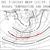 3日連続天気ネタ…この12月は冷えるのか?はたまた暖冬か?一か月予想図を読み解いてみた