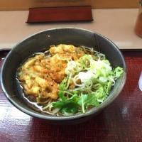 大崎駅 あずみ のかき揚げ蕎麦
