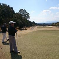 今日もいいお天気でゴルフ…