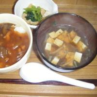 のりスープ 小松菜あれこれ