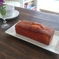単発レッスン・・・オレンジのパウンドケーキを作りました