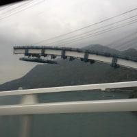 帰りに一号橋工事風景