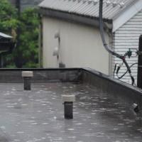 今朝(5月26日)の東京のお天気:雨、5月(後半)の作品:花を持つ童子