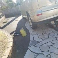 出張タイヤ交換でスタッドレスタイヤの交換に行ってきました
