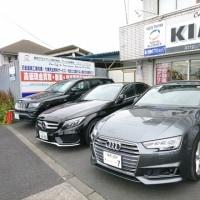今日の店頭は人気のブランドお洒落な輸入車が勢揃いでございます!