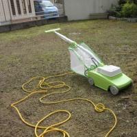 いい買物をした。 芝刈り機。