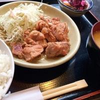 日替り定食を頂きました。 at 串特急 神谷町店