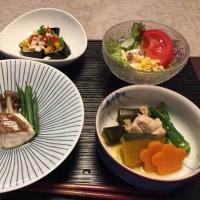 時間をかけて和食
