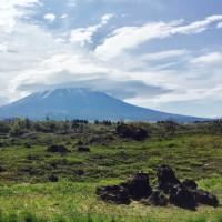富士山おかんむり