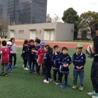 2017.1.15練習@日本人学校浦東校