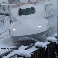 2月12日N700系新幹線