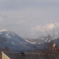 蓼科山荘より 麓から見た蓼科山の様子とデザートのこと