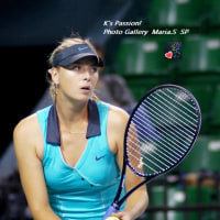 Welcome Back...!!! (Maria Sharapova) -ポートレートplus-