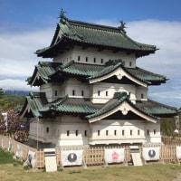 弘前城で今年二度目のお花見