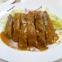 肉のますゐの特上トンカツとビールスタンド重富