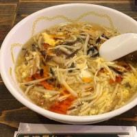 酸辣湯麺を頂きました。 at 香港屋台 カンフー・キッチン