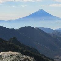 日本一の山、富士山。