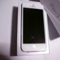 iPhone5買いました