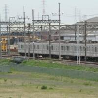 東武鉄道佐野線 渡瀬駅付近にて。