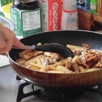 豚肉と長芋の甘酢炒め・・・飯村直美料理教室