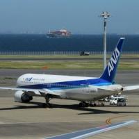快晴 羽田空港