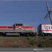 東武鉄道70000系甲種輸送 ・ 城東貨物線