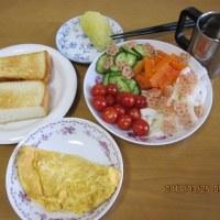 朝ご飯から・・・