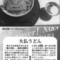 大仏うどん(毎日新聞「ディスカバー!奈良」第4回)