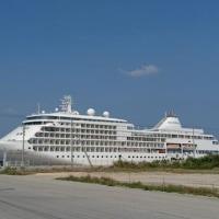 大型クルーズ船の寄港