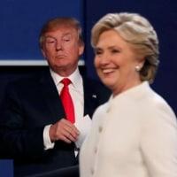 トランプ氏は敗北を受け入れられない人物=クリントン氏・・・真のアメリカ支配層に反発する国民がいるから?