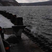 今日の支笏湖