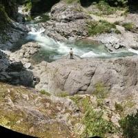 今日の鮎滝&猿橋_170623