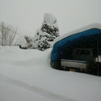 片品大雪です